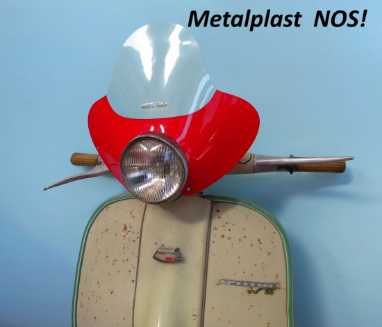 Cupolino ORIGINALE NOS Metalplast per Vespa+ Lambretta
