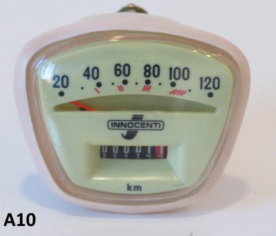 Contachilometri scala 120 Km/h per Lambretta S3