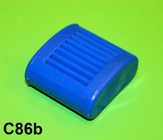 Protezione pedale avviamento blu
