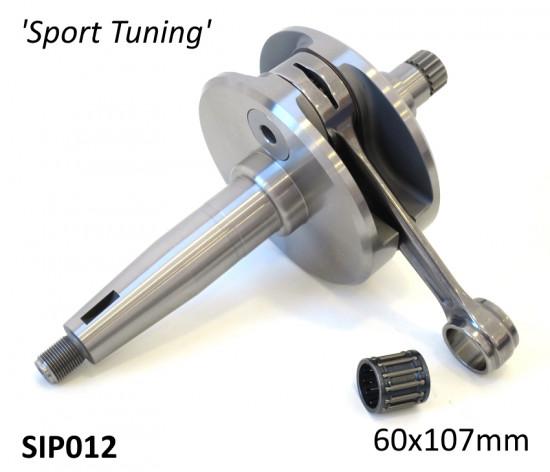 Albero motore SIP cono grosso DL versione 'Sport Tuning' corsa 60mm / biella 107mm