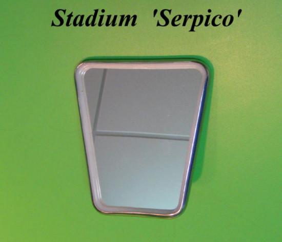 Specchio Stadium stile anni '70 (modello Serpico)