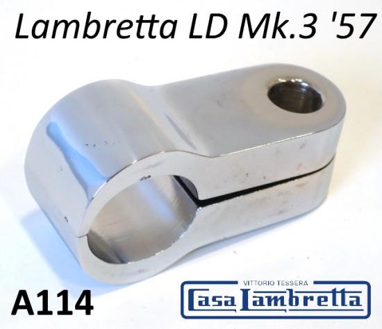 Morsetto cromato per specchio retrovisore Lambretta LD '57