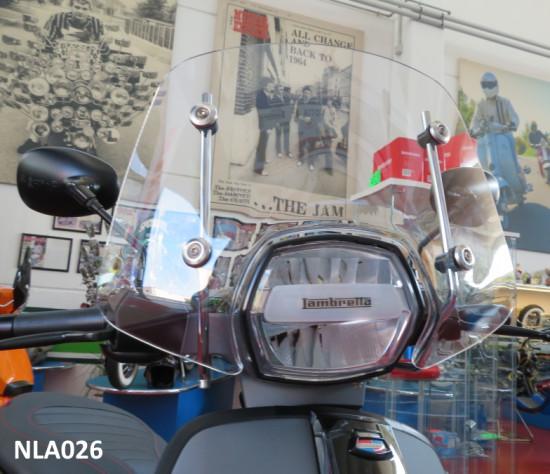 Parabrezza Sportivo RLC per Lambretta V-Special (Trasparente)