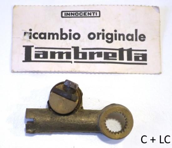 Leva selettore cambio ORIGINALE NOS Innocenti per Lambretta D + LD