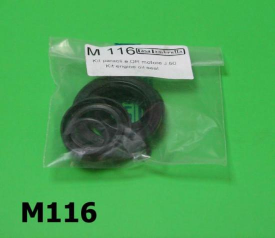 Kit paraoli motore + OR Lambretta J50 + Lui 50C/CL