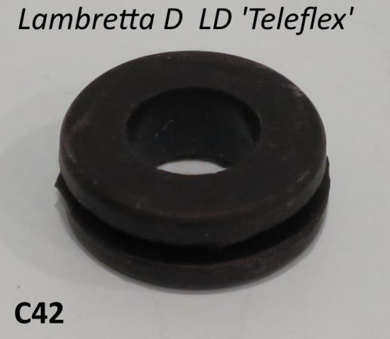 Protezione guaina Teleflex scudo Lambretta D + LD
