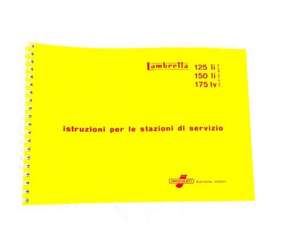 Manuale di officina Lambretta S2 + S3