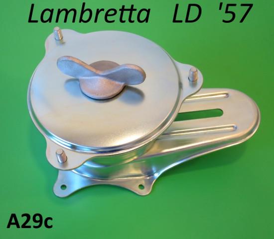 Accessorio portaruota scorrevole posteriore per Lambretta LD 1957