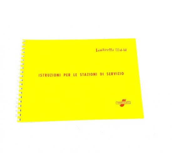 Manuale Officina 150D LD150 LD125