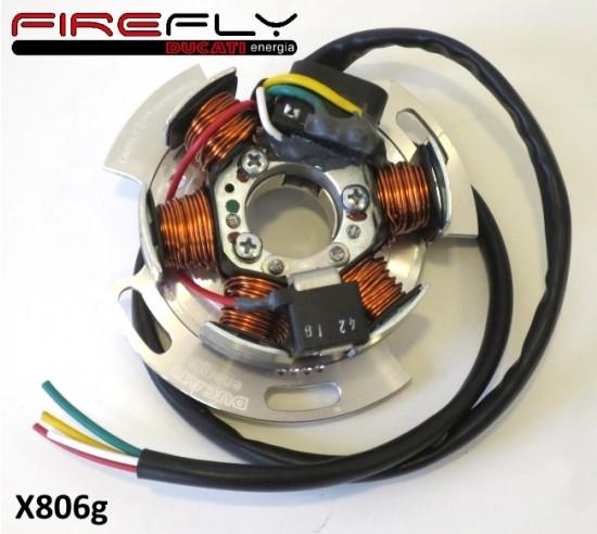 Statore per accensione elettronica Casa Performance Ducati Firefly 12V 90w per Lambretta J + Lui