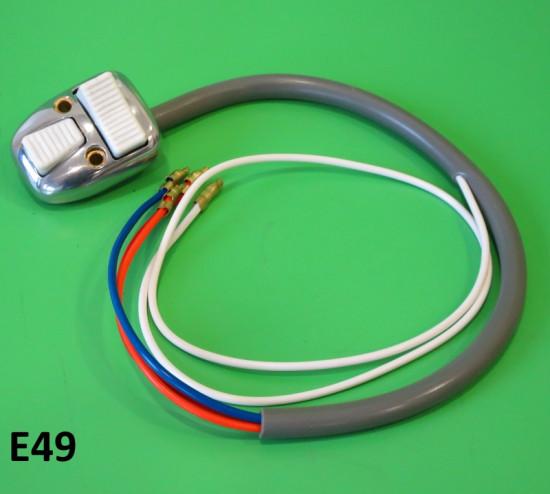 Devioluci Lambretta Special SX DL (tutte le cilindrate) con pulsanti bianchi