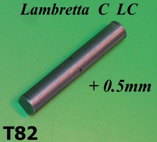 Perno ammortizzatore posteriore maggiorato +0,5mm Lambretta C + LC