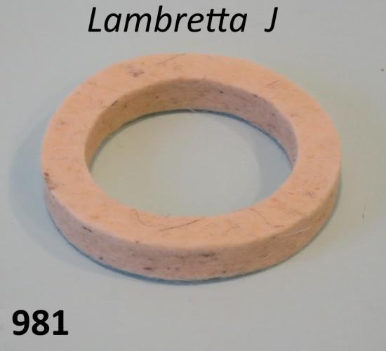 Feltrino superiore serbatoio Lambretta J