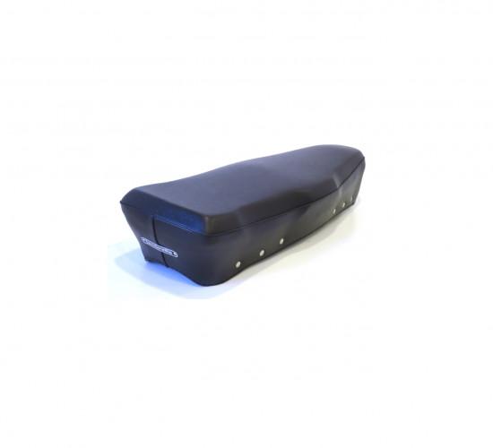 Copertina per sella lunga (telaio Giuliari) per Lambretta DL, colore nero