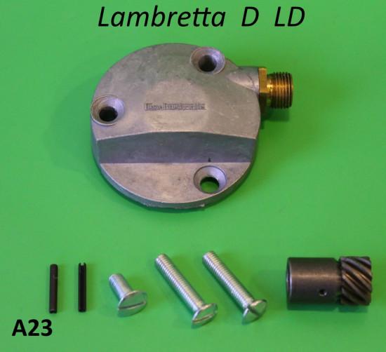 Rinvio contakm alla ruota posteriore Lambretta D150 LD150