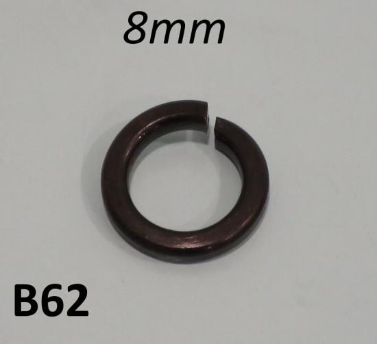 Ranella spaccata (brunita) per vite a brugola 8mm per motore