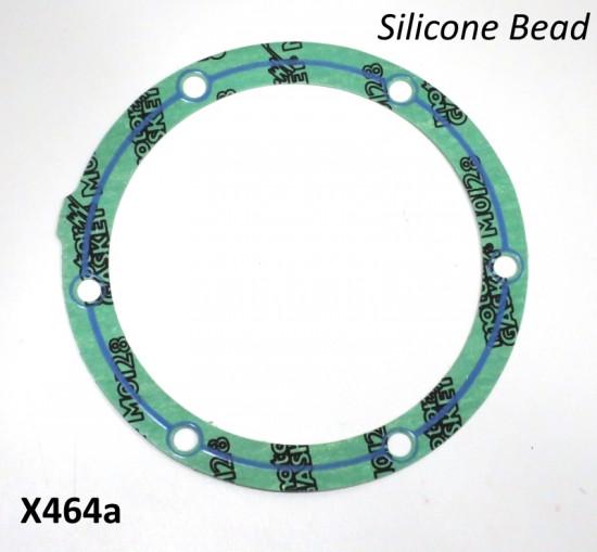 Guarnizione speciale siliconica per flangia volano BGM per Lambretta S1 + S2 + TV2 + S3 + TV3 + Special + SX + DL + Serveta