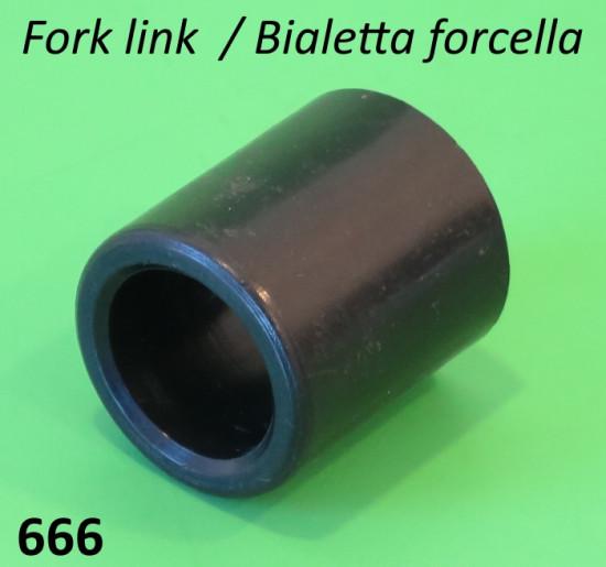 Boccola in teflon per biellette forcella Lambretta S1 + S2 + S3 + TV3 + Special + SX + DL