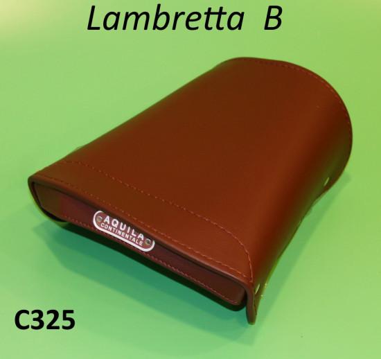 Copertina marrone sella posteriore Lambretta B