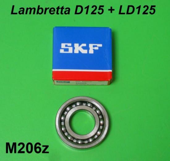 Cuscinetto coppia conica posteriore 16004 Lambretta D + LD