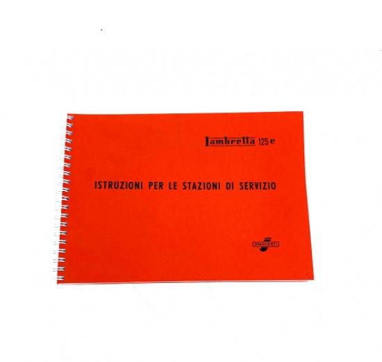 Manuale di officina Lambretta 125 E-F