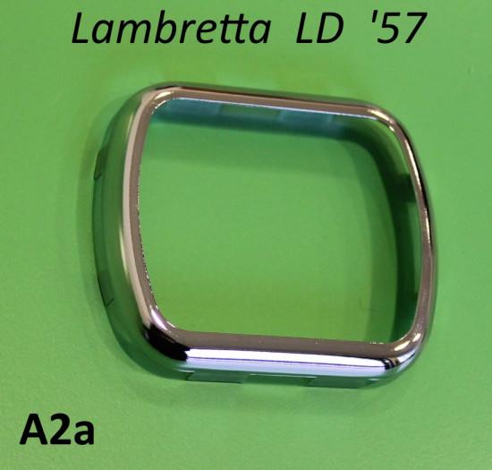 Cornice rettangolare contachilometri Lambretta LD '57