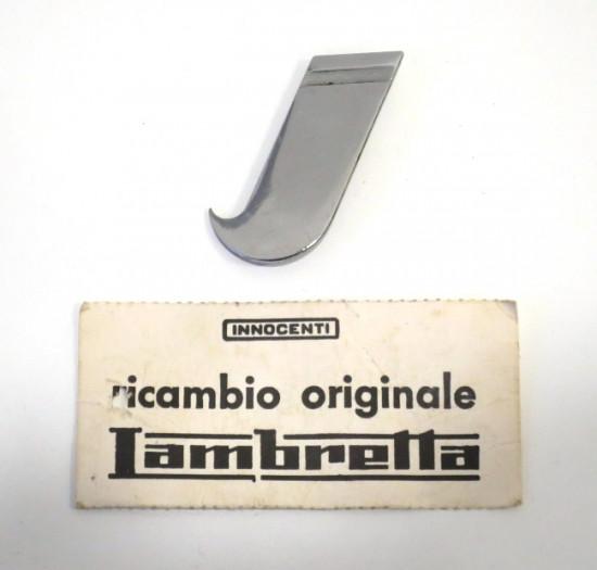 Scritta cromata 'I' (Innocenti) ORIGINALE NOS per Lambro Innocenti