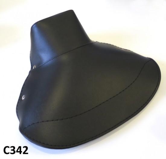 Copertina sella singola nera Lambretta S1 + S2 + S3