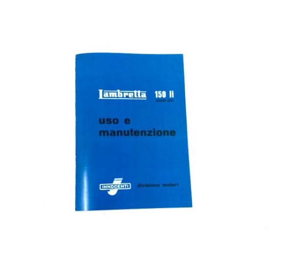 Libretto 'Uso e Manutenzione' Lambretta LI150 S2