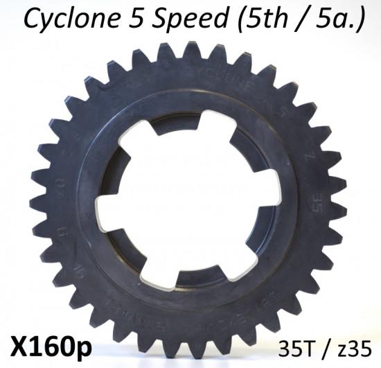 z35 ingranaggio 5a. marcia per cambio 5 marce 'Cyclone 5 Speed'