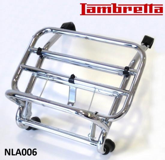 Portapacchi anteriore cromato per Lambretta V-Special