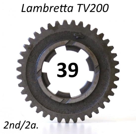 Ingranaggio 2a. marcia z39 per Lambretta TV 200
