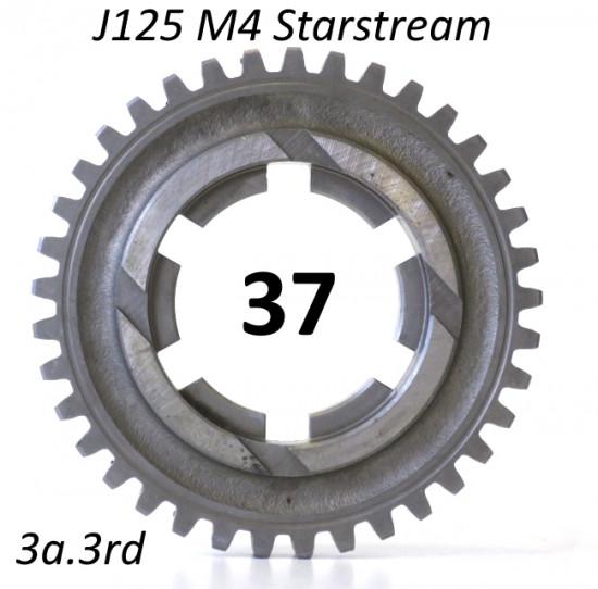 Ingranaggio 3a. marcia z37 per Lambretta J125 M4 'Stellina'