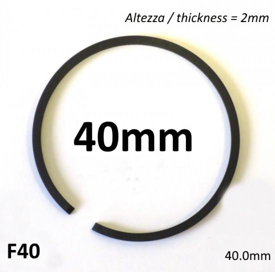 Fascia elastica 50cc (segmento) tipo originale (con diametro da 40.0mm / altezza 2.0mm)
