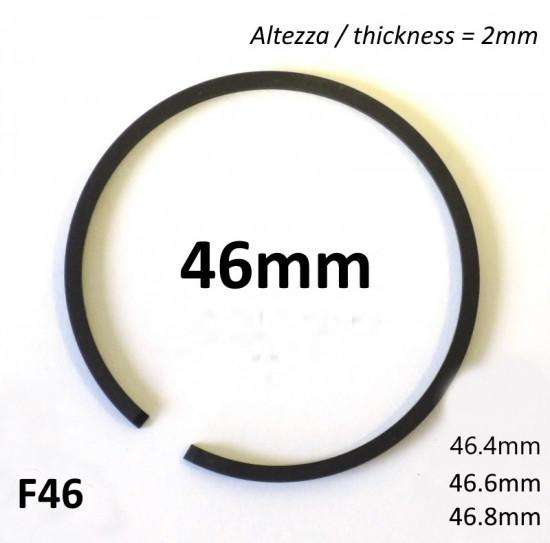 Fascia elastica (segmento) 46.4mm + maggiorazione (altezza 2.0mm) tipo originale di alta qualità