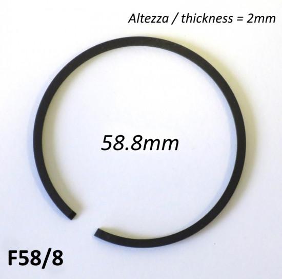 Fascia elastica (segmento) 58.8mm (altezza 2.0mm) tipo originale di alta qualità
