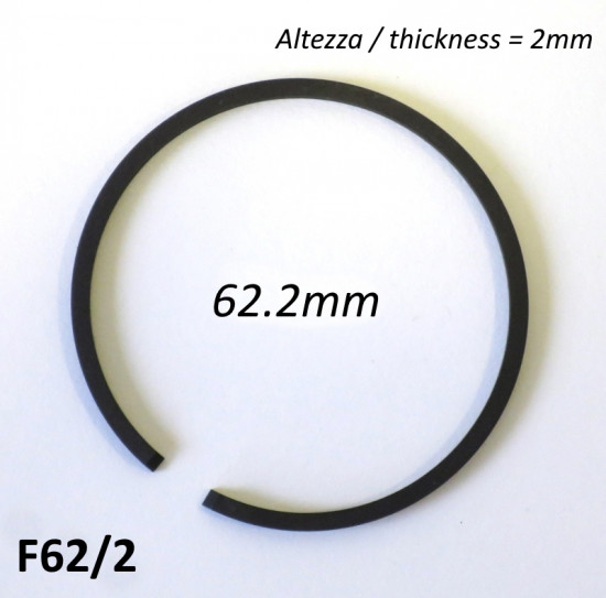 Fascia elastica (segmento) 62.2mm (altezza 2.0mm) tipo originale di alta qualità