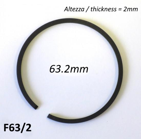 Fascia elastica (segmento) 63.2mm (altezza 2.0mm) tipo originale di alta qualità