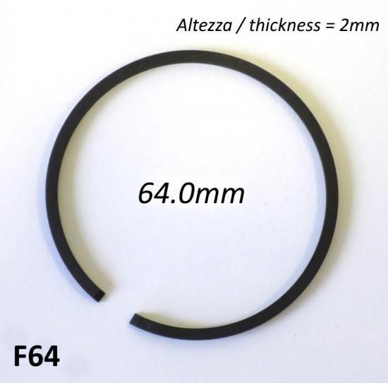 Fascia elastica (segmento) 64.0mm (altezza 2.0mm) tipo originale di alta qualità