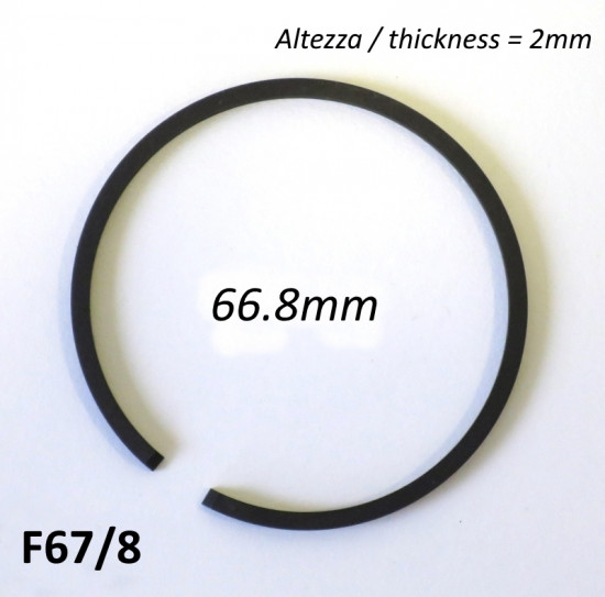 Fascia elastica (segmento) 67.8mm (altezza 2.0mm) tipo originale di alta qualità