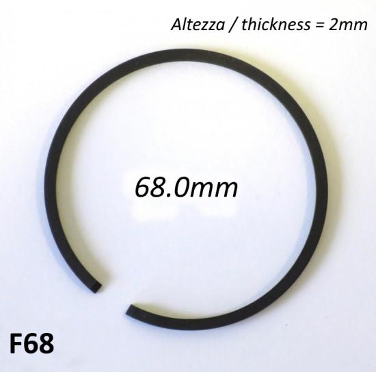 Fascia elastica (segmento) 68.0mm (altezza 2.0mm) tipo originale di alta qualità