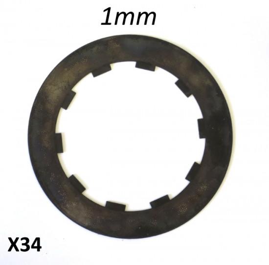 Disco in acciaio temperato Casa Performance, spessore 1mm, per frizione da competizione (o multi-dischi)