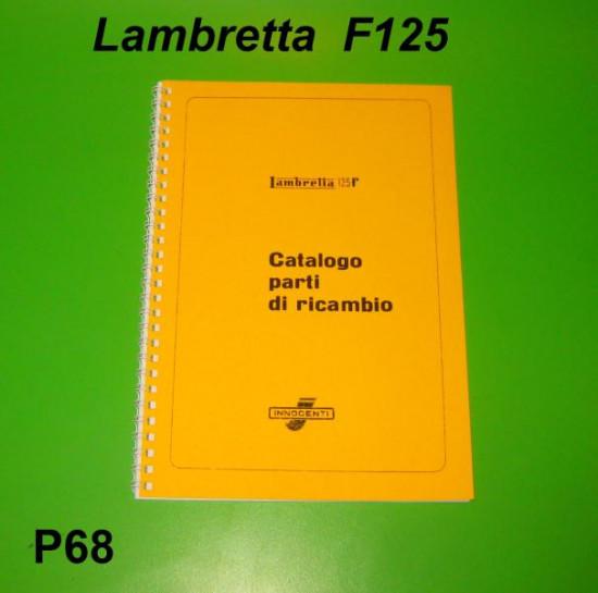 Catalogo Ricambi Lambretta F125