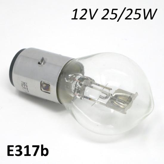 Lampadina per fanale anteriore 12V 25/25W (per accensioni 12V)