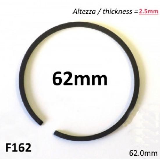 Fascia elastica (segmento) 62mm + maggiorazione (altezza 2.5mm) tipo originale di alta qualità