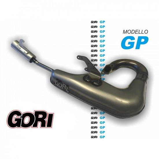 Marmitta Gori GP attacco cilindro standard per Lambretta S1 + S2 + S3 + TV + SX + DL