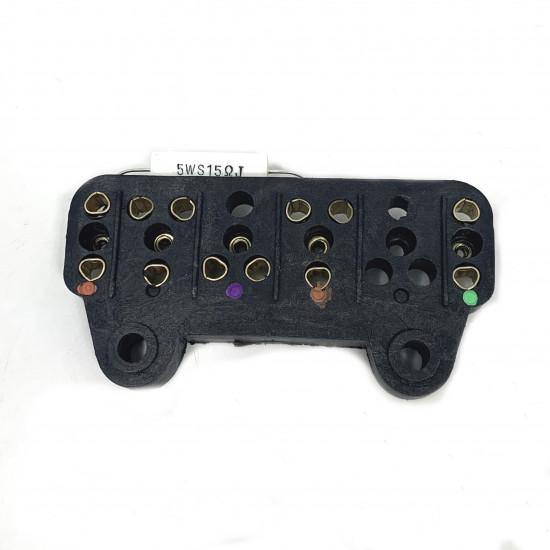 Morsettiera con resistenza per Lambretta LI 125 S2 prima versione