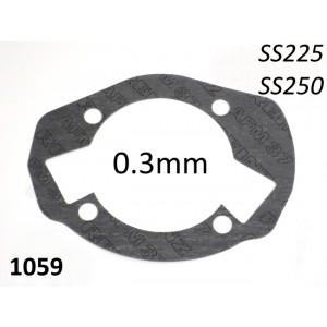 Guarnizione spessa 0,3mm base cilindro per kit SS225 + SS250 di Casa Performance