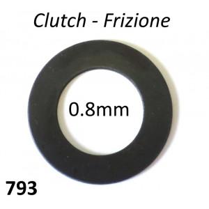 Rasamento spesso 0.8mm per sotto frizione