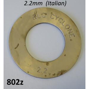Spessore rasamento 2,2mm per 1a. marcia Lambretta S1 + S2 + S3 + TV3 + SX + DL